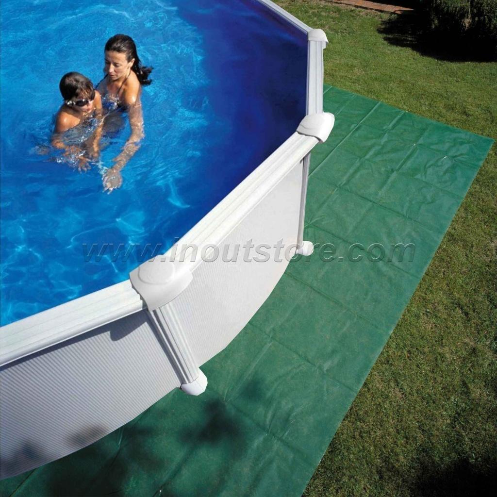 Piscina Da Esterno Fuori Terra kit piscina fuori terra gre serie haiti ovale 1000x550 kitprov10288