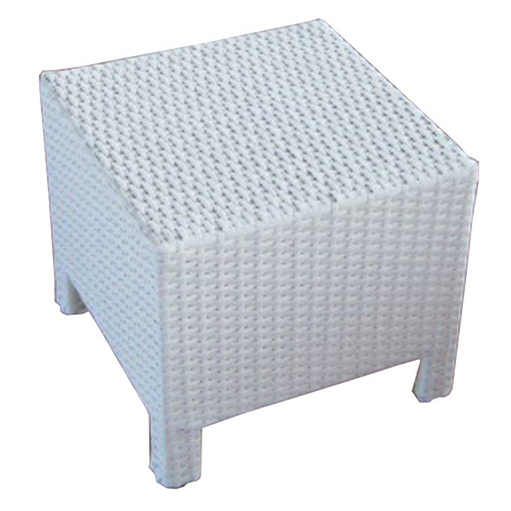 Armadio In Rattan Sintetico.Tavolino Da Giardino In Rattan Bianco Nancy Moia Ctw 62b