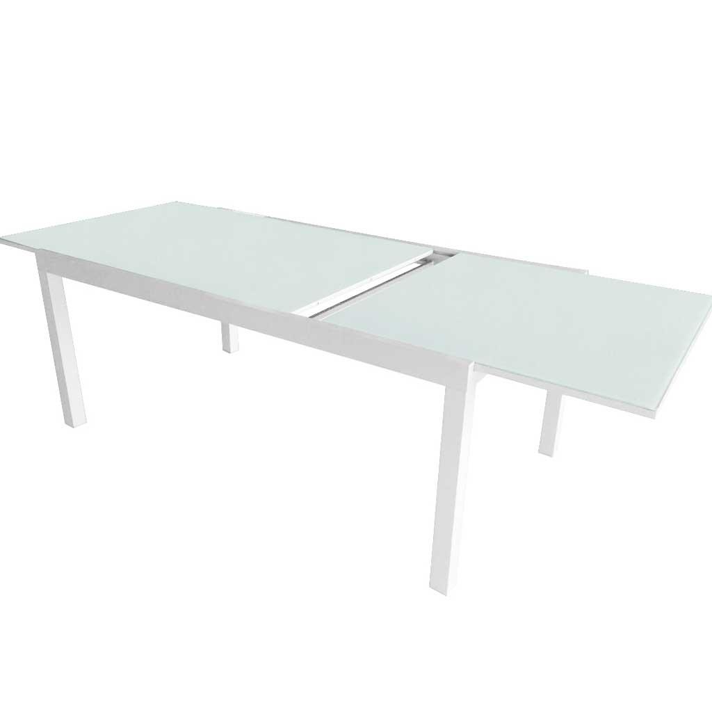 Tavolo Da Giardino Estensibile.Tavolo Da Giardino Allungabile In Alluminio 120 240 Moia Rta 39
