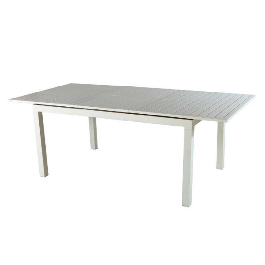 Tavolo Allungabile In Alluminio.Tavolo Da Giardino In Alluminio Allungabile 200 300 Moia Rta 42