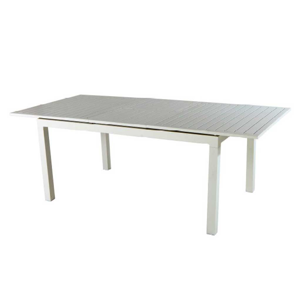 Tavolo Da Giardino Quadrato Allungabile.Tavolo Da Giardino In Alluminio Allungabile 200 300 Moia Rta 42