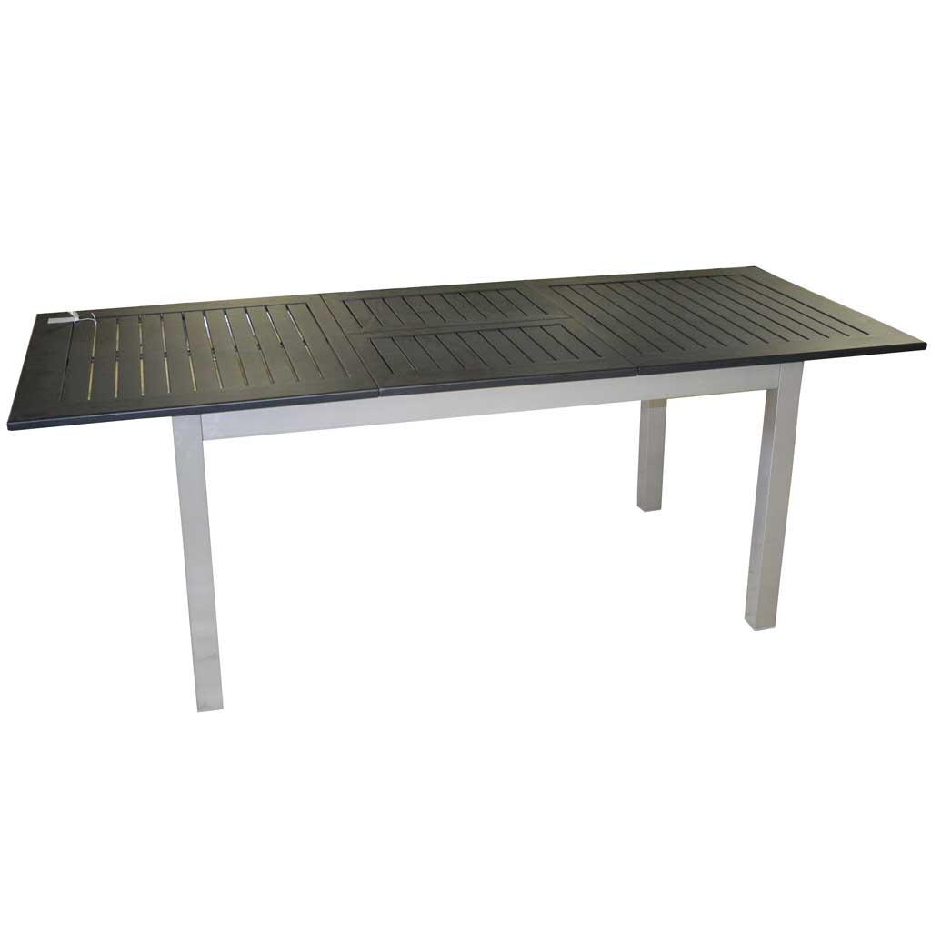 Tavoli Da Giardino In Alluminio Allungabili.Tavolo Da Giardino Allungabile In Alluminio Ravello Moia Rty 16