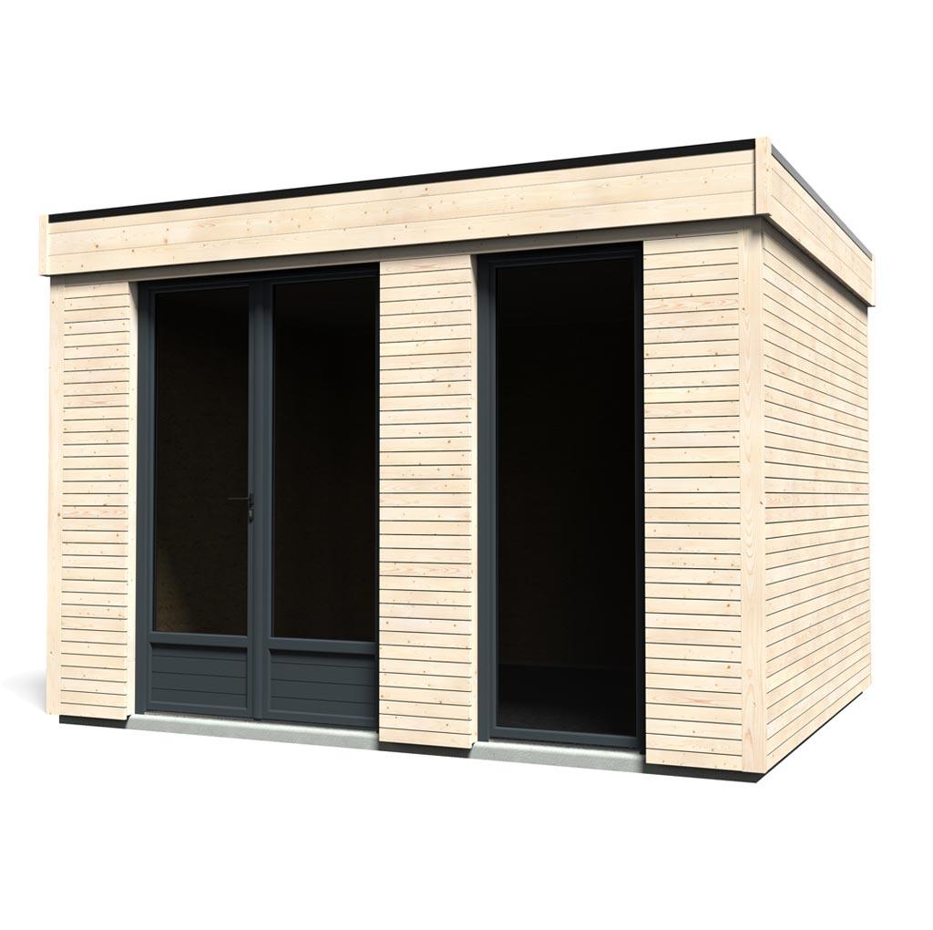 Casetta Abitabile In Legno Deco Home Decor Et Jardin 348x282 Pannelli 80 Mm