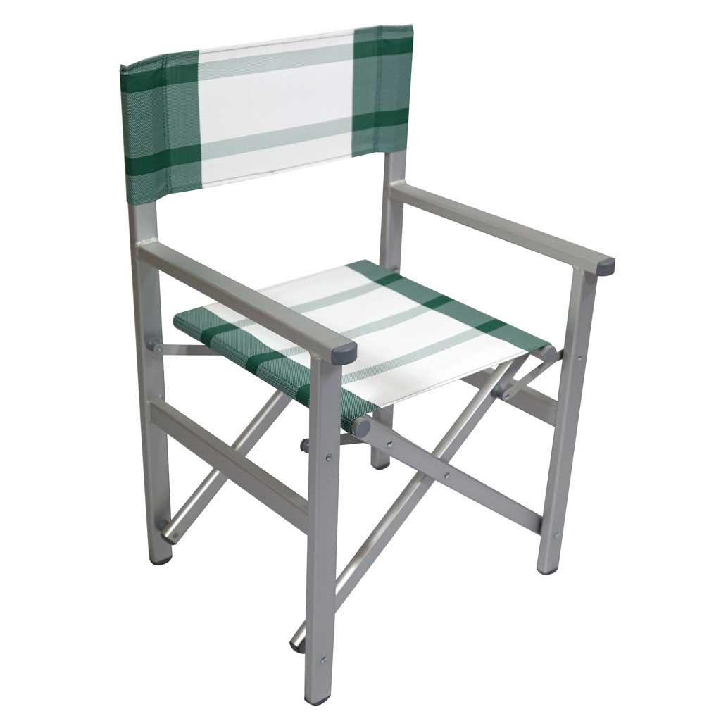 Sedie Pieghevoli Per Esterno.Sedia Pieghevole Da Giardino In Alluminio Mama Garden Chat 25