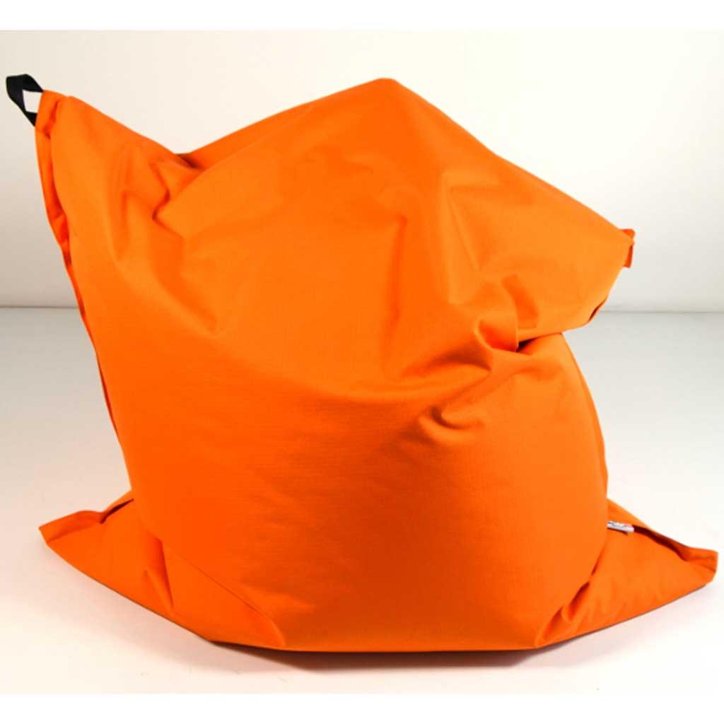 Sacco gigante poltrona Pouf Dreamaway Arancione 130x150