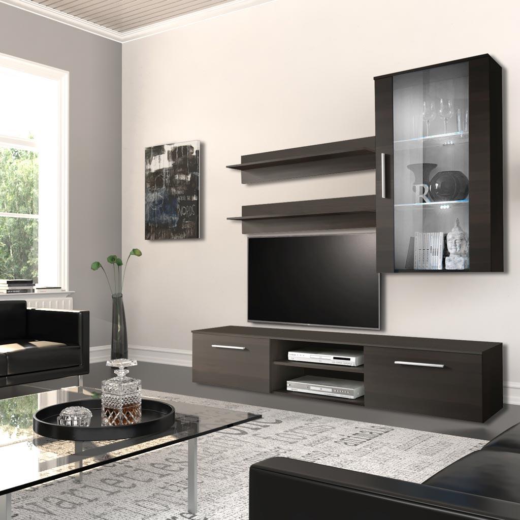 Mobile Tv Munich Theta Design Wenge