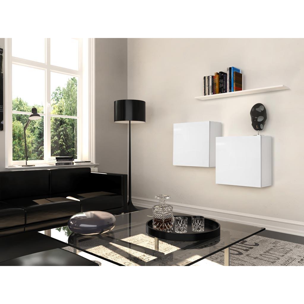 Mobile soggiorno Graz 7 Theta Design Bianco