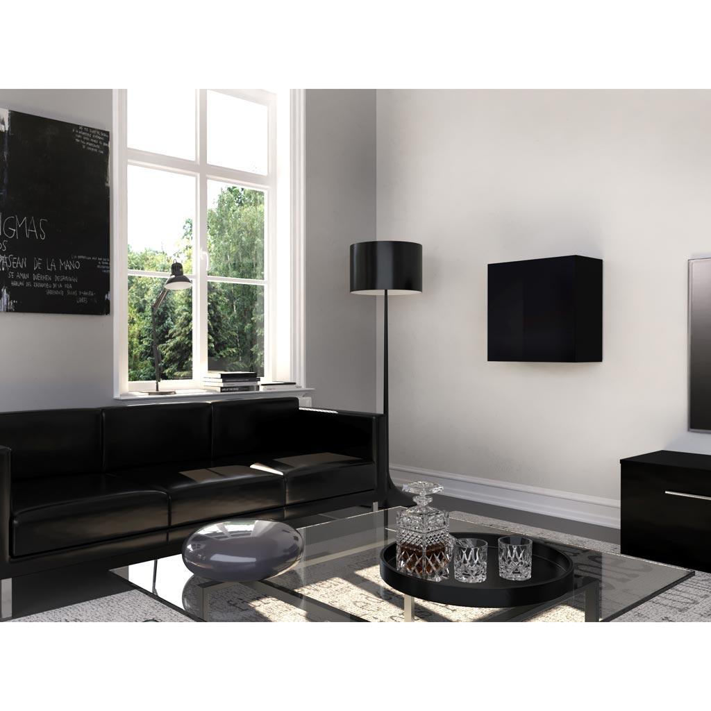 Acquista online Mobile soggiorno Graz 3 Theta Design Bianco