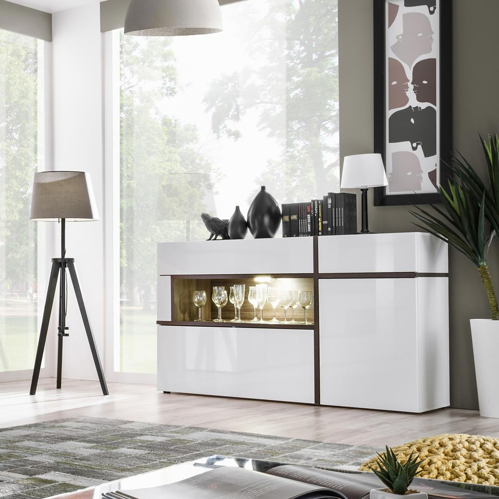 Mobile Sala Sb Cross Theta Design Bianco
