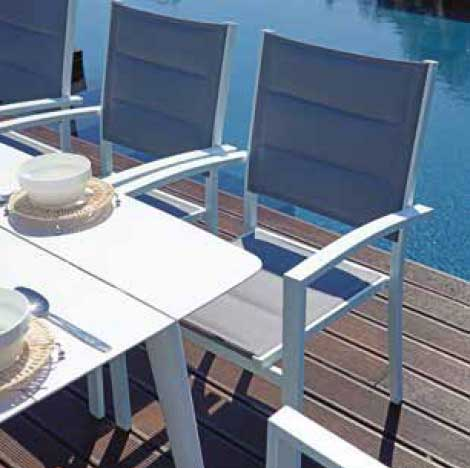Moia Mobili Da Giardino.Tavolo Da Giardino 180 X 90 In Alluminio Lanciano Moia Rta 50