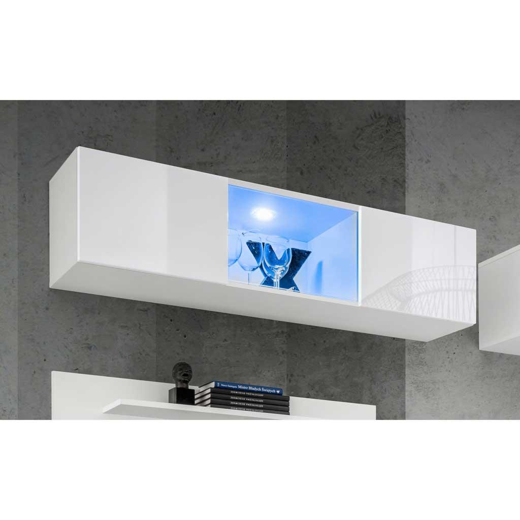 Pensile Soggiorno Fly 12 Theta Design Bianco