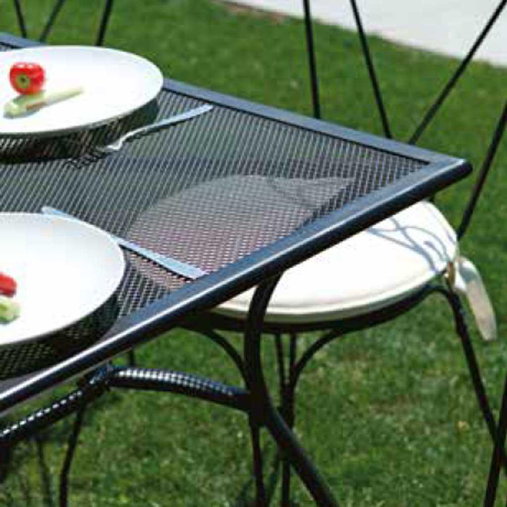 Tavolo Da Esterno Ferro.Tavolo Rettangolare In Ferro Da Giardino Ticino Mama Garden Rtf 61