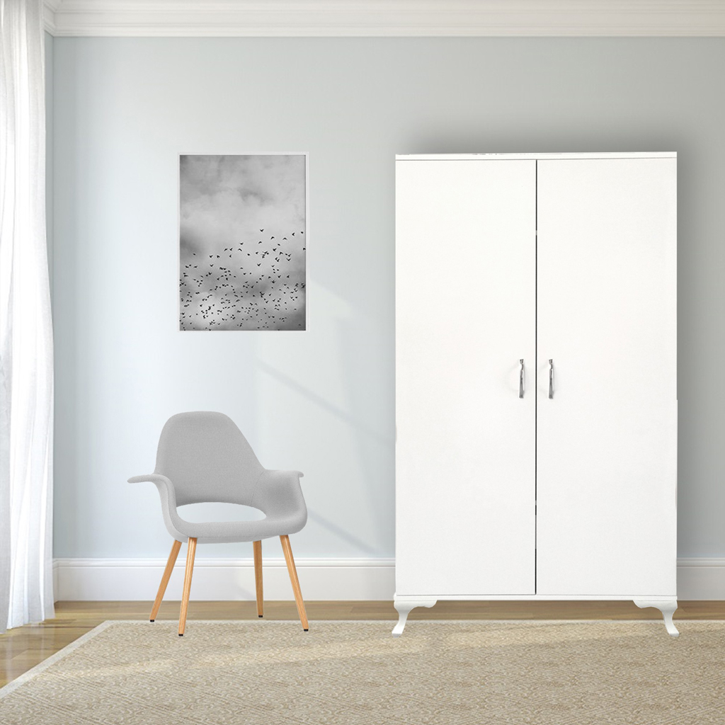 Armadio A Muro Moderno.Vendita Armadio A Muro Ada Home Factory Bianco Stile Moderno