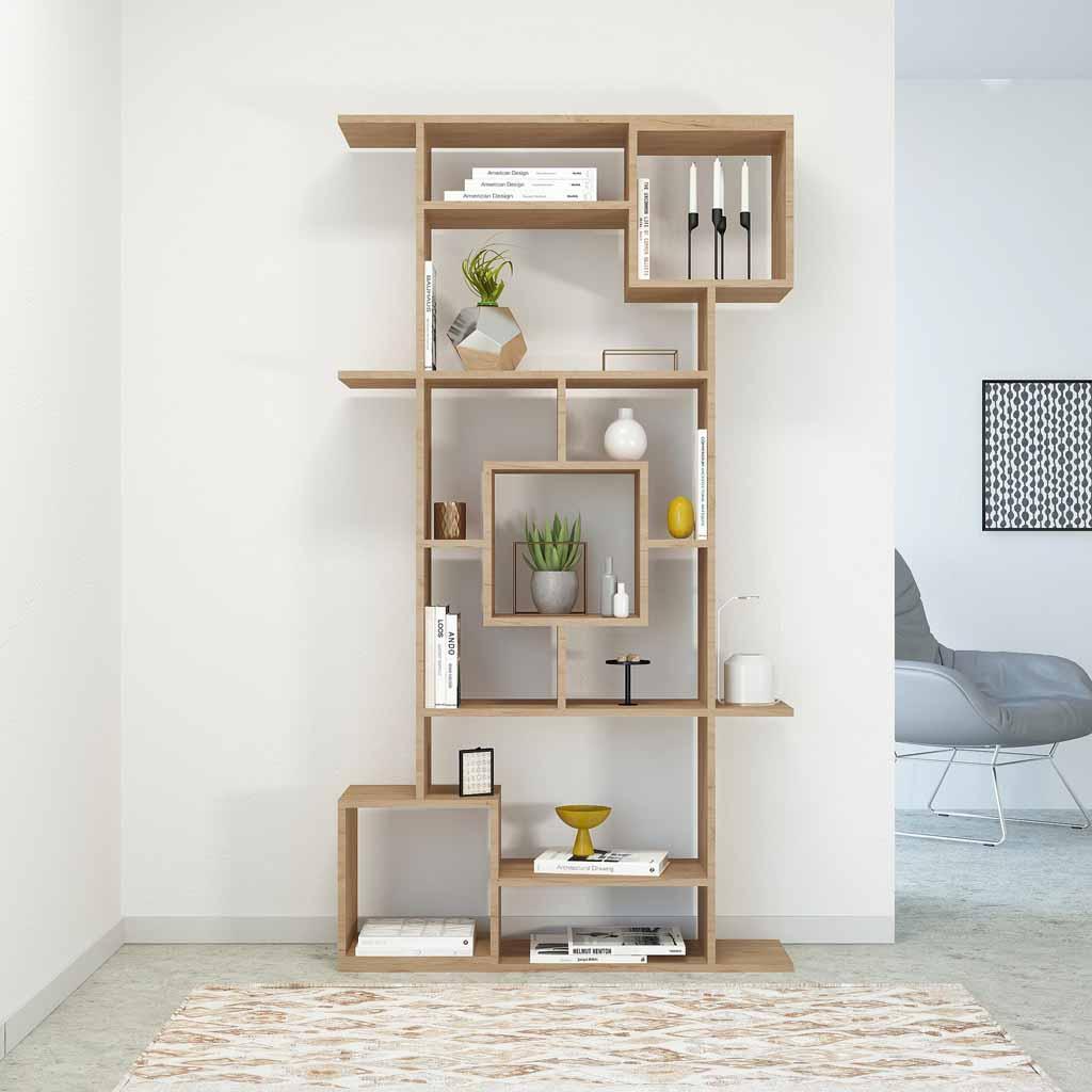 Vendita Librerie In Legno.Vendita On Line Libreria A Muro Marie Home Factory Legno Stile Moderno